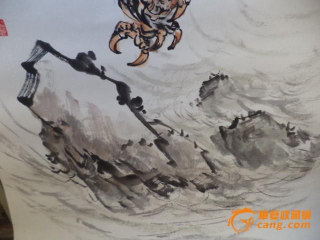 雨鹤国画—气吞云梦—大展宏图