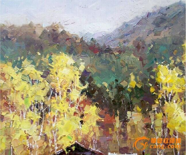 金老师油画手绘风景写实