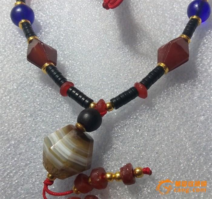 手工制作玛瑙项链