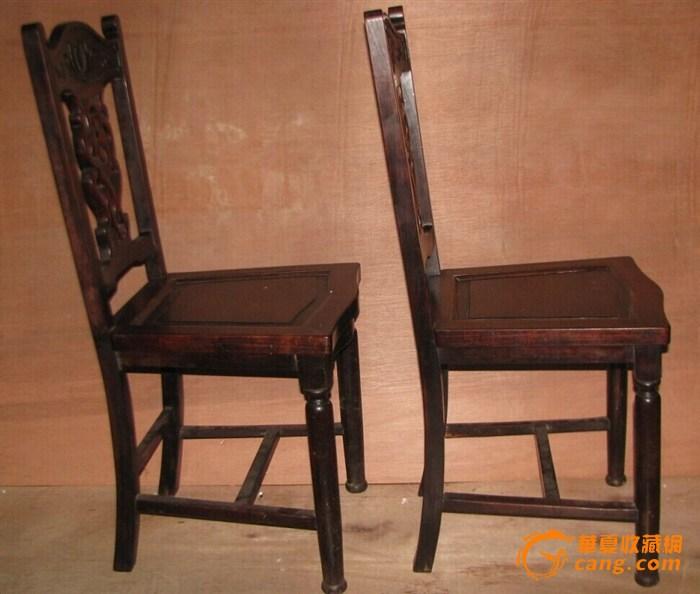 老红木雕刻椅子