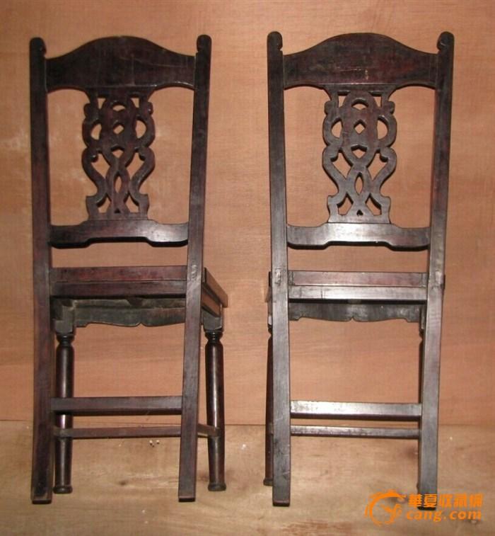 老红木雕刻椅子图7