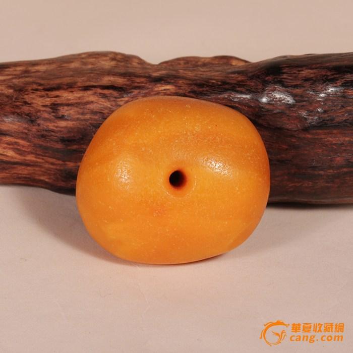藏传天然老蜜蜡饼 20.35克
