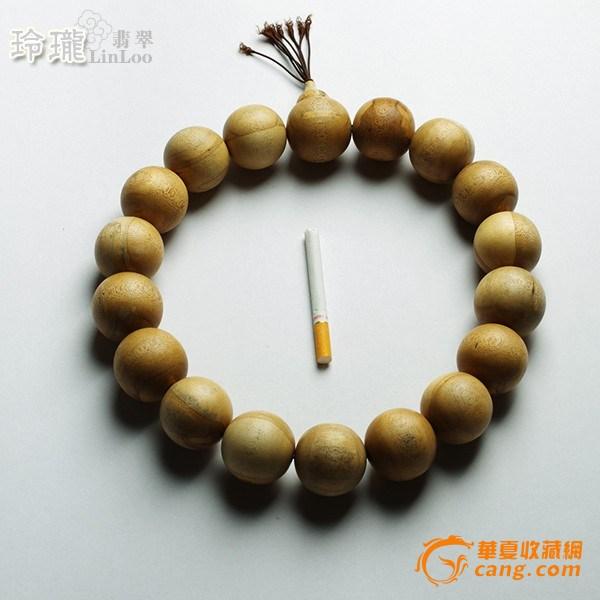 越南惠安沉香木禅宗18粒念佛珠(36mm)-AN33图2
