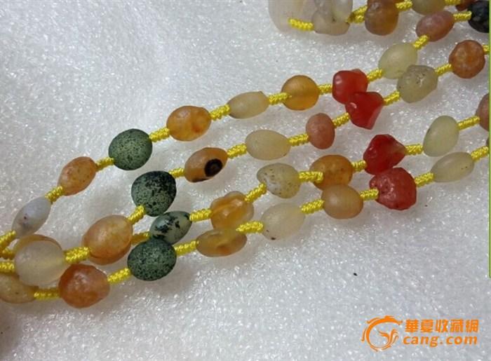 1~2 > 原生态阿拉善玛瑙   原生态阿拉善玛瑙,手工编制,珠直径7-8mm