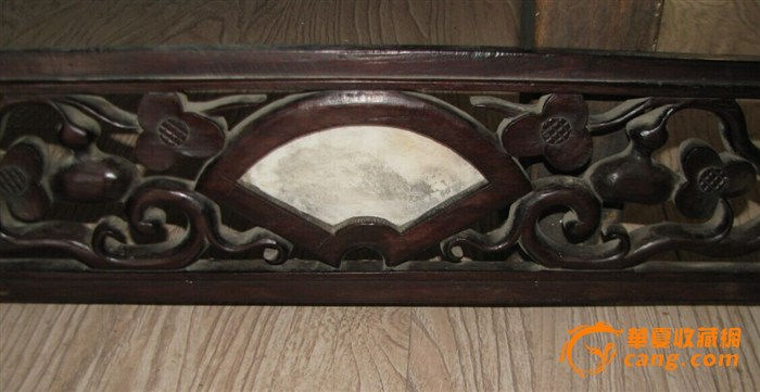 民国老红木雕刻板