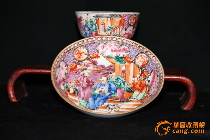广彩即广州织金彩瓷的简称,是吸收传统的古彩技艺,仿照西洋表现手法图片