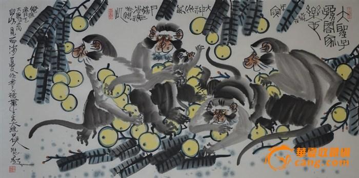 李燕国画真迹精品!