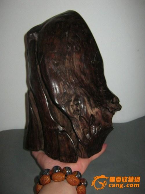 自然枯木石榴木摆件图片大全