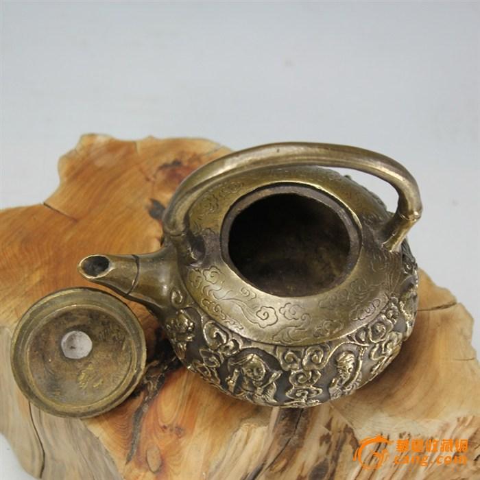 铜壶 八仙过海