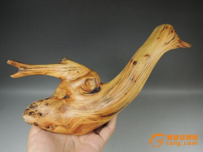 虎皮纹象形鹅摆件