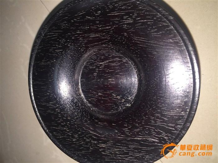 19~20 > 紫檀木茶碗底托   拍品描述 东西保老材质保真,图和实物一致