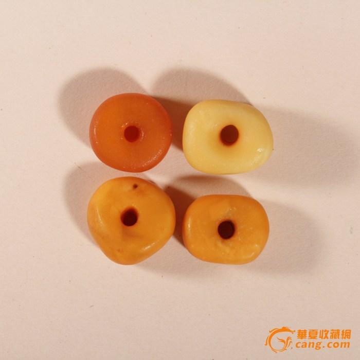 【联盟】【清】 极美天然老蜜 蜡饼12.25克 4个