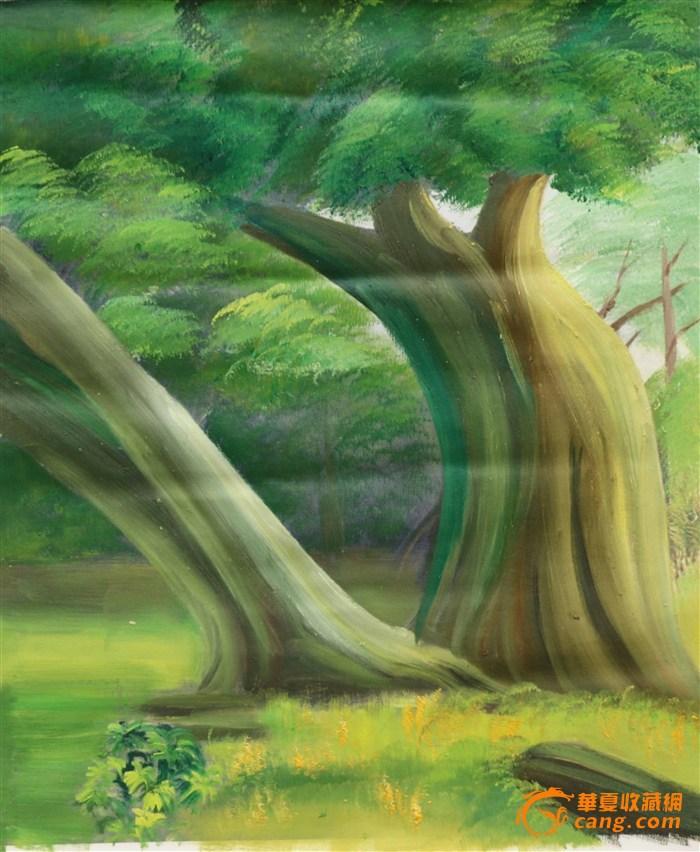 手绘油画 b-12-1