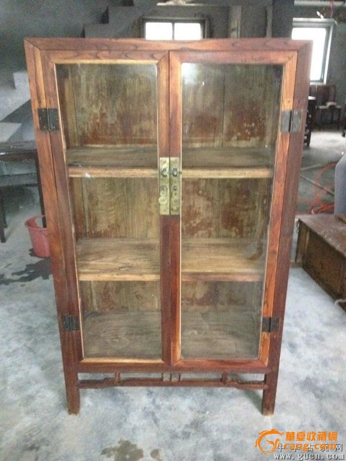 【联盟】清代榉木书柜