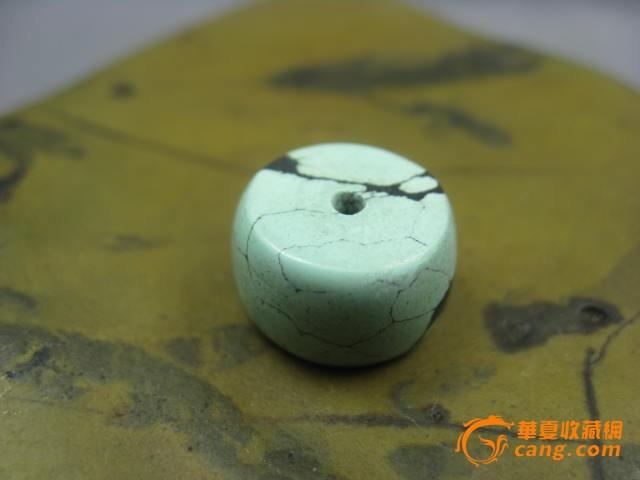 【原矿绿松石单珠】编号5086图1