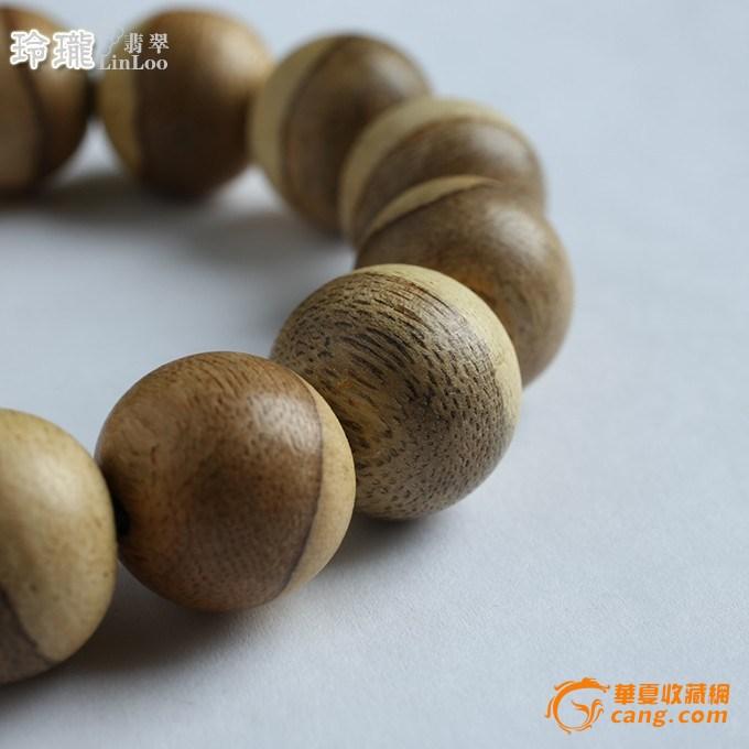 越南广南蜜香活结沉香木手珠-ap33