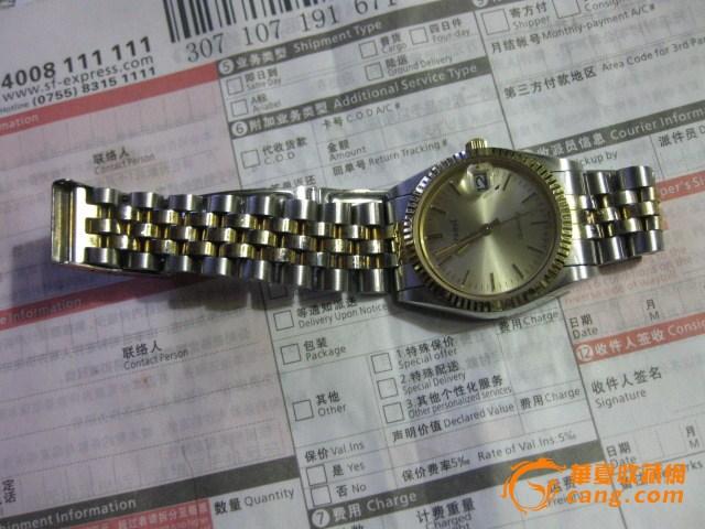库存。新品石英男式手表。跑得好。