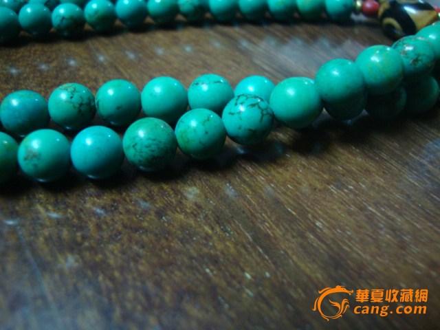 藏式松石108佛珠_在线拍卖