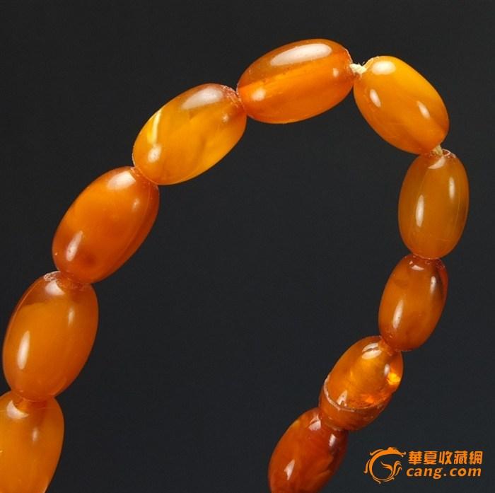32克【极品】天然金绞丝鸡__油黄*老蜜蜡_项链图9