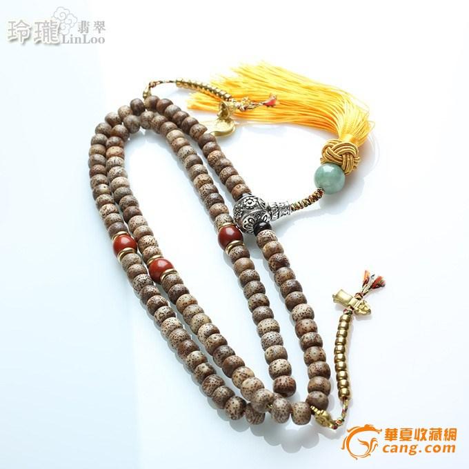 化星月菩提  从顶珠到佛头尺寸:50cm