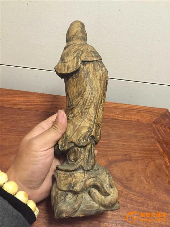 木雕观音图7