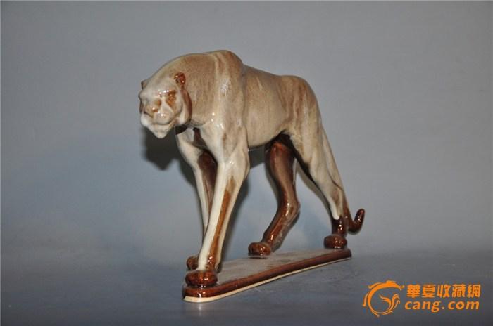 陶瓷动物艺术品