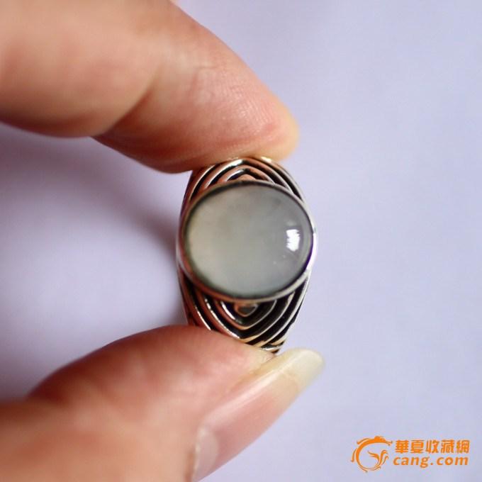 翡翠男装戒指镶嵌手绘设计图展示