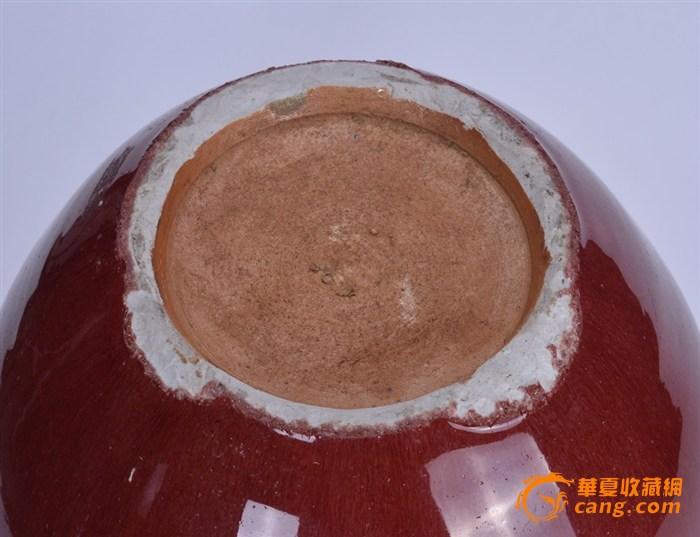 清 郎窑红盖罐图8