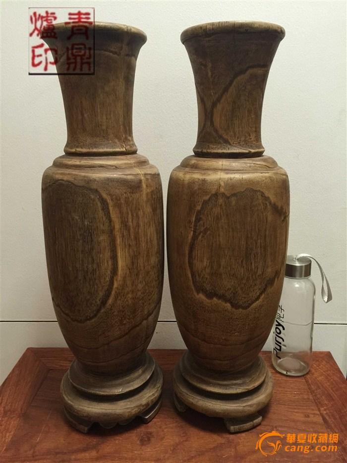 沉香木花瓶图1