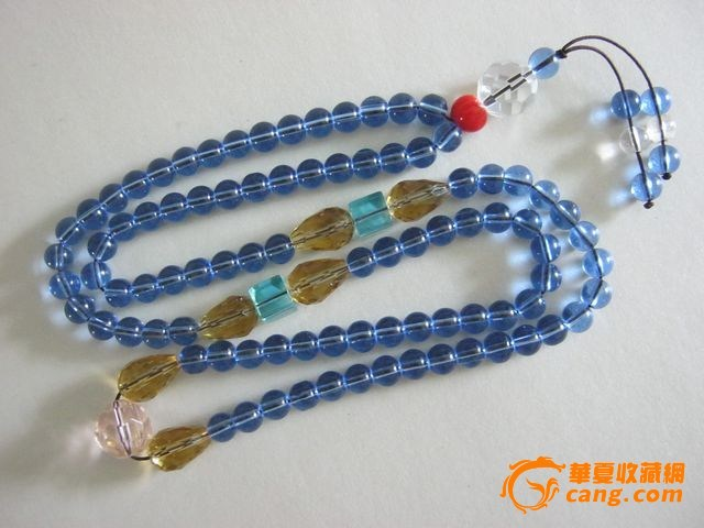 水晶串珠项链