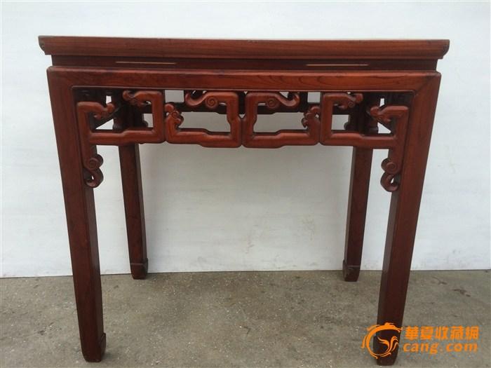(联盟) 品相不错的老画桌一张