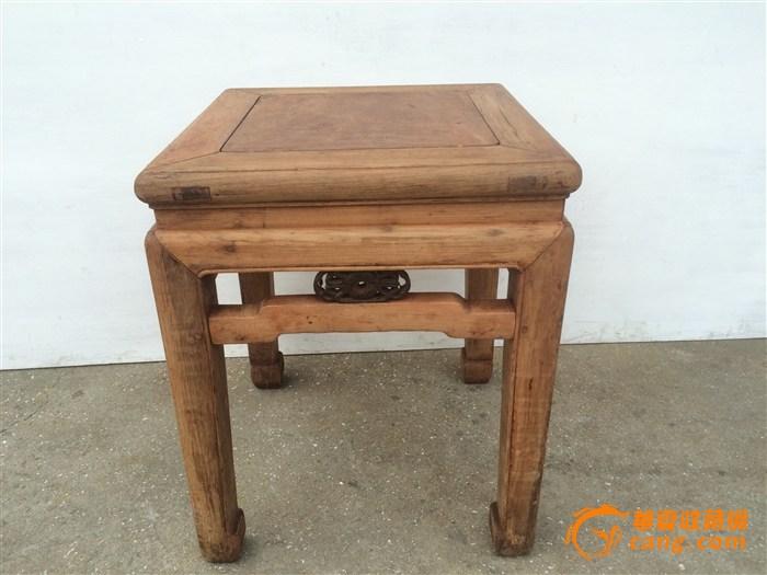 (联盟)楠木老方凳一张