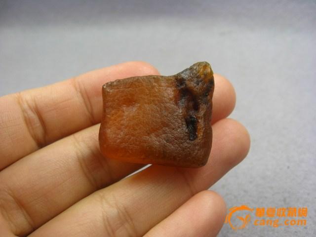 波海蜜蜡琥珀原石无优化 编号10850图3