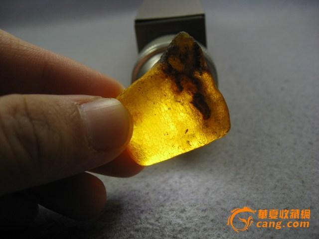 波海蜜蜡琥珀原石无优化 编号10850图6