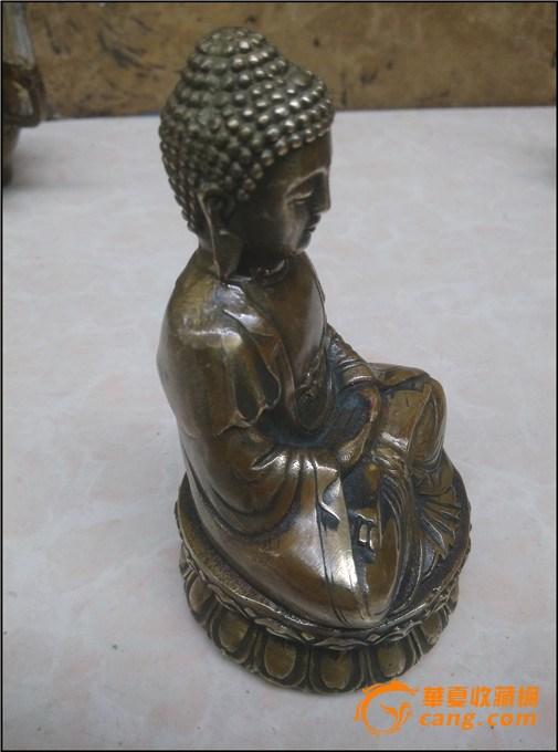 纯铜佛像--释迦摩尼 图3
