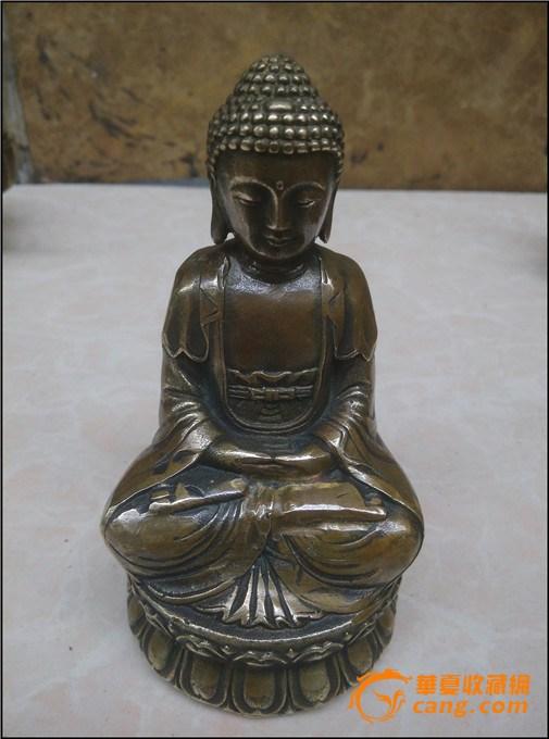 纯铜佛像--释迦摩尼 图1