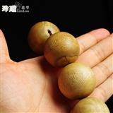 越南惠安沉香木禅宗18粒念佛珠(36mm)-AN33