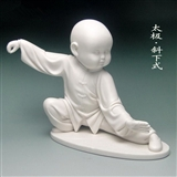 瓷雕工艺礼品摆件.德化白瓷(中国白). 太极系例【斜下式】