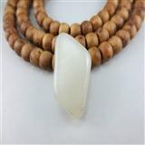和田玉白玉籽料原石12g