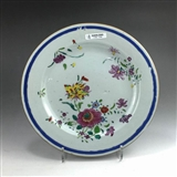 乾隆-粉彩花卉纹盘