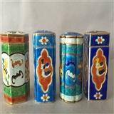 中华民国银烧蓝针筒4个