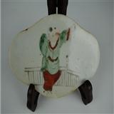 民国婴戏瓷板