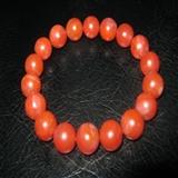 高品质保山南红手链(1)