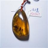 缅甸天然植物珀挂件13.5克
