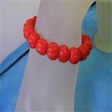 红琉璃手链