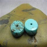 【绿松石对珠】编号7480