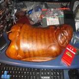 2.06公斤竹根:卧枕