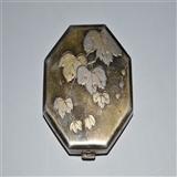 民国精美银质粉盒