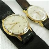 两块瑞士原装全镀金男士机械腕表*一只价*