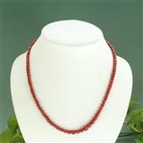 保真天然阿卡级红珊瑚项链
